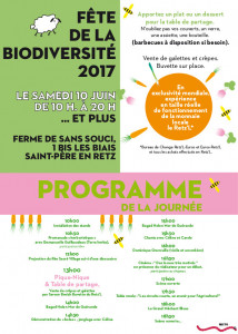 Programme de la Fête de la Biodiversité le 10 juin 2017
